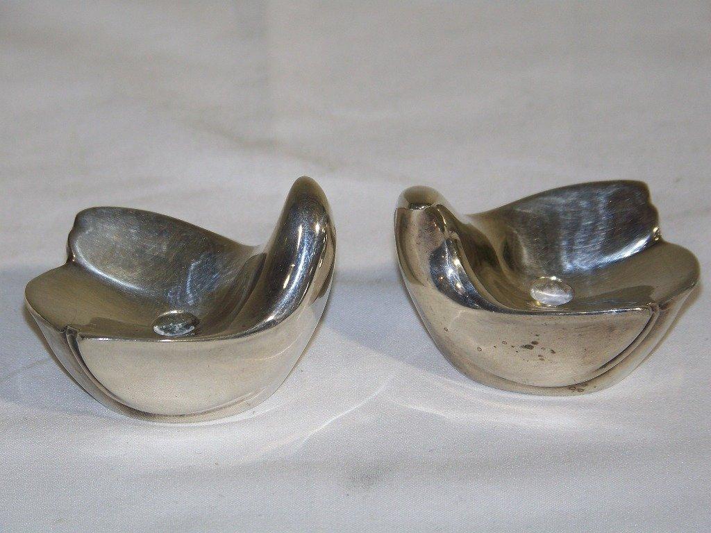 6 Vintage Dansk Silver Plated Animals & Candle Holders. - 3