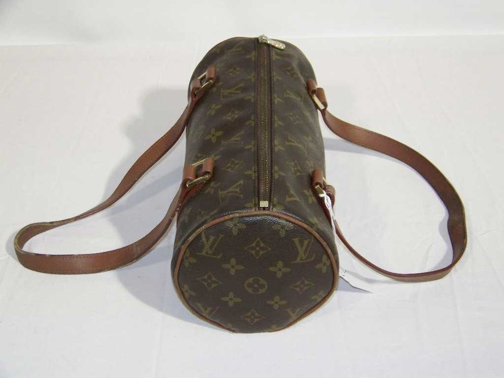 c95d9cc22692 Vintage Louis Vuitton Cylinder Shaped Purse