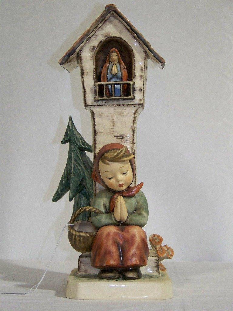 "Early M.J.Hummel Figure 13"" Tall "" Worship"""