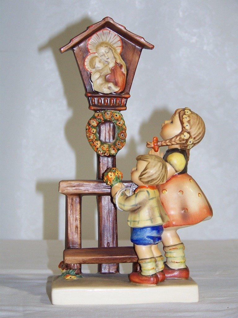"Early M.J.Hummel Figure 9"" Tall "" Adoration"""
