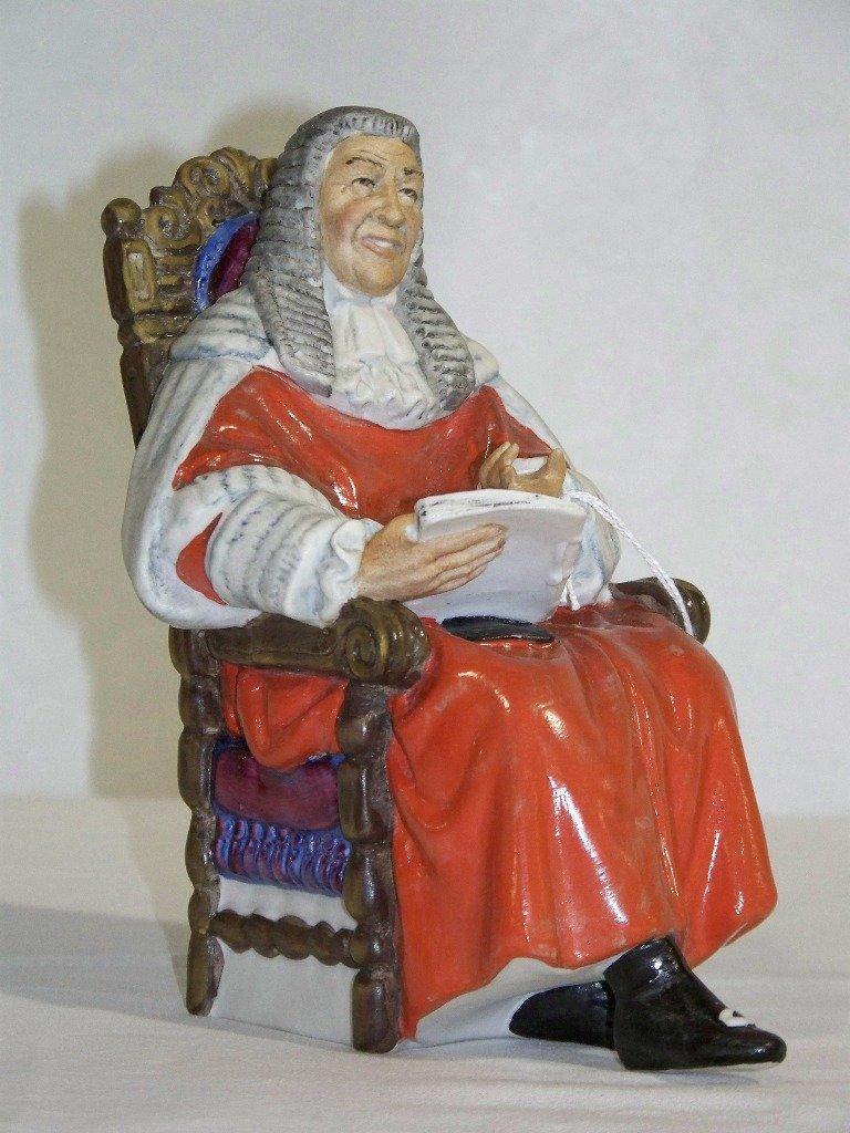 "Vintage Royal Doulton ""The Judge"" HN2443"