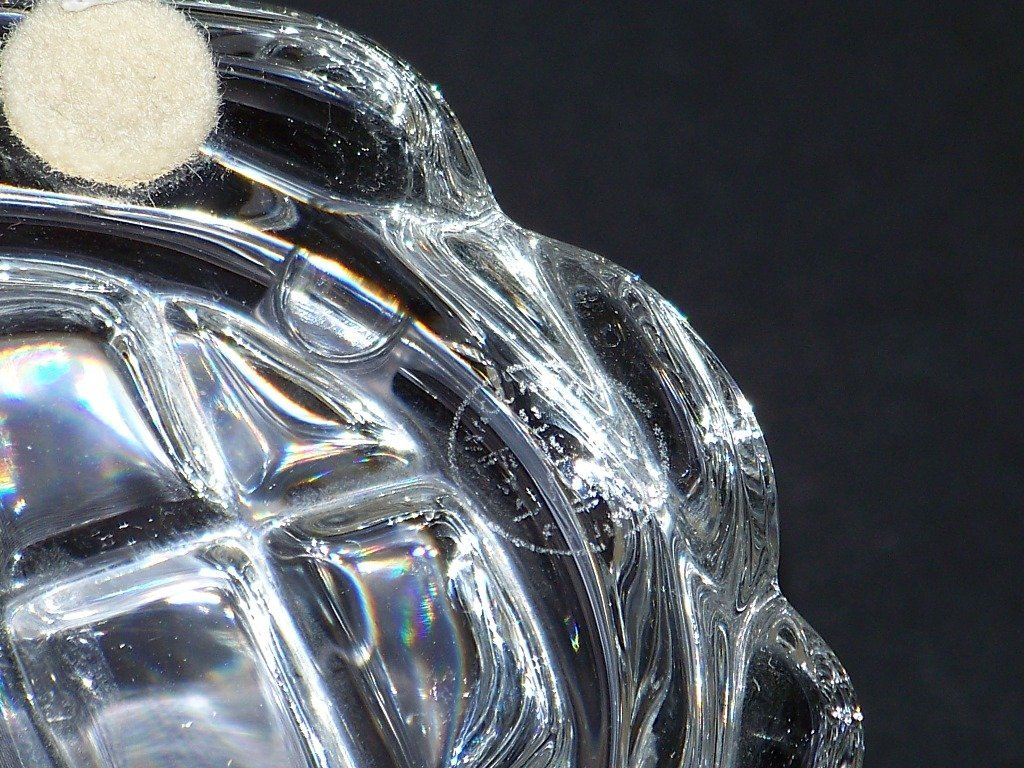 Retired Baccarat Crystal Turtle Figurine Paperweight - 4