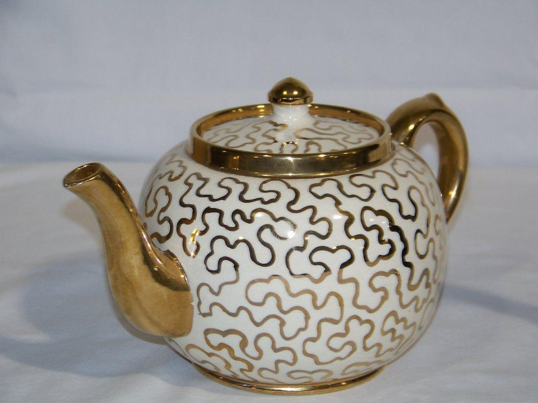 Great Pair of Early Tea Pots, Hall & Sudlow's - 3