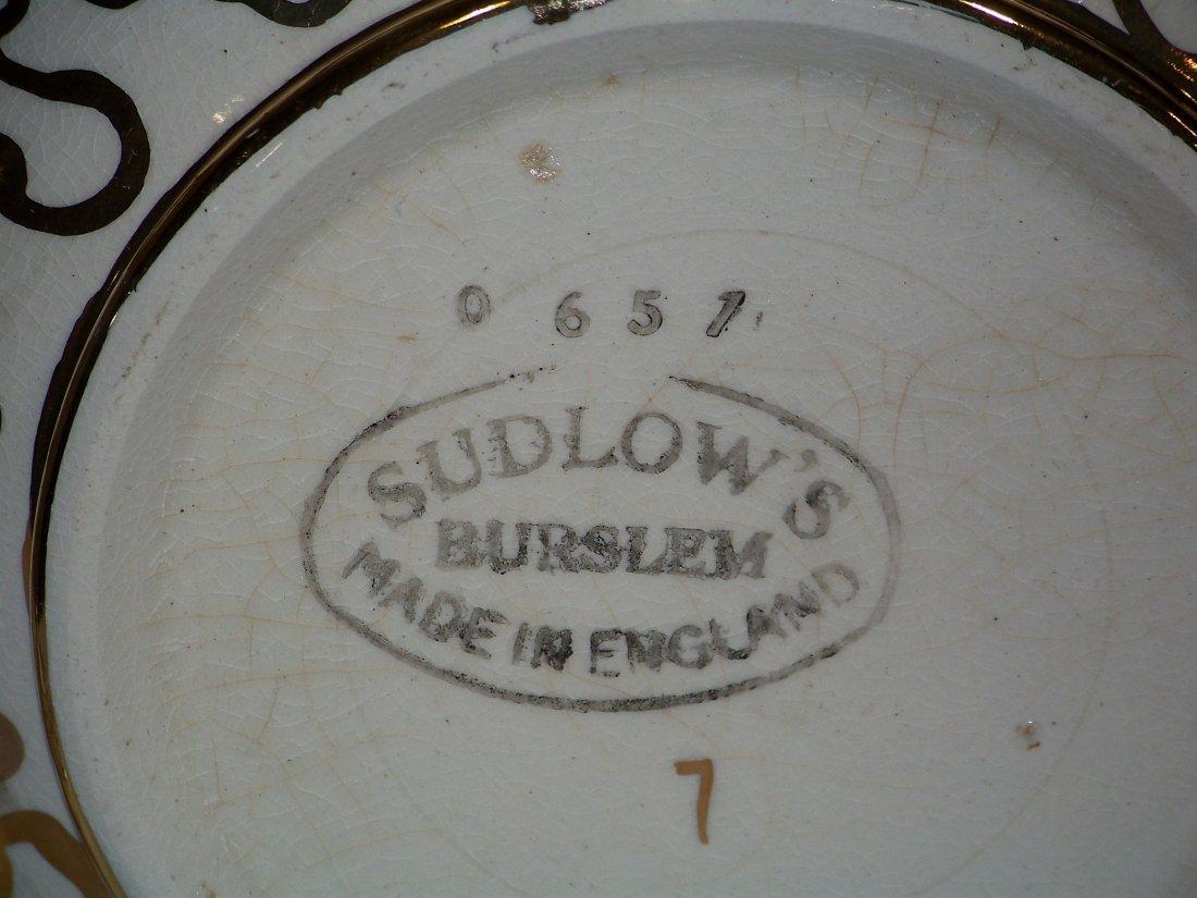 Great Pair of Early Tea Pots, Hall & Sudlow's - 4