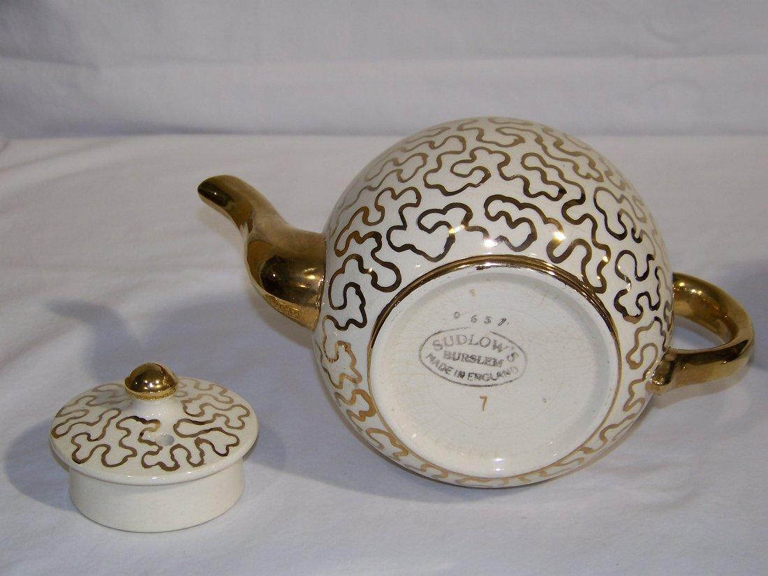 Great Pair of Early Tea Pots, Hall & Sudlow's - 5