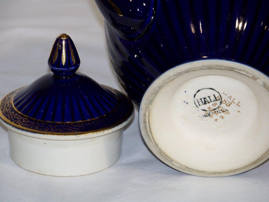 Great Pair of Early Tea Pots, Hall & Sudlow's - 8
