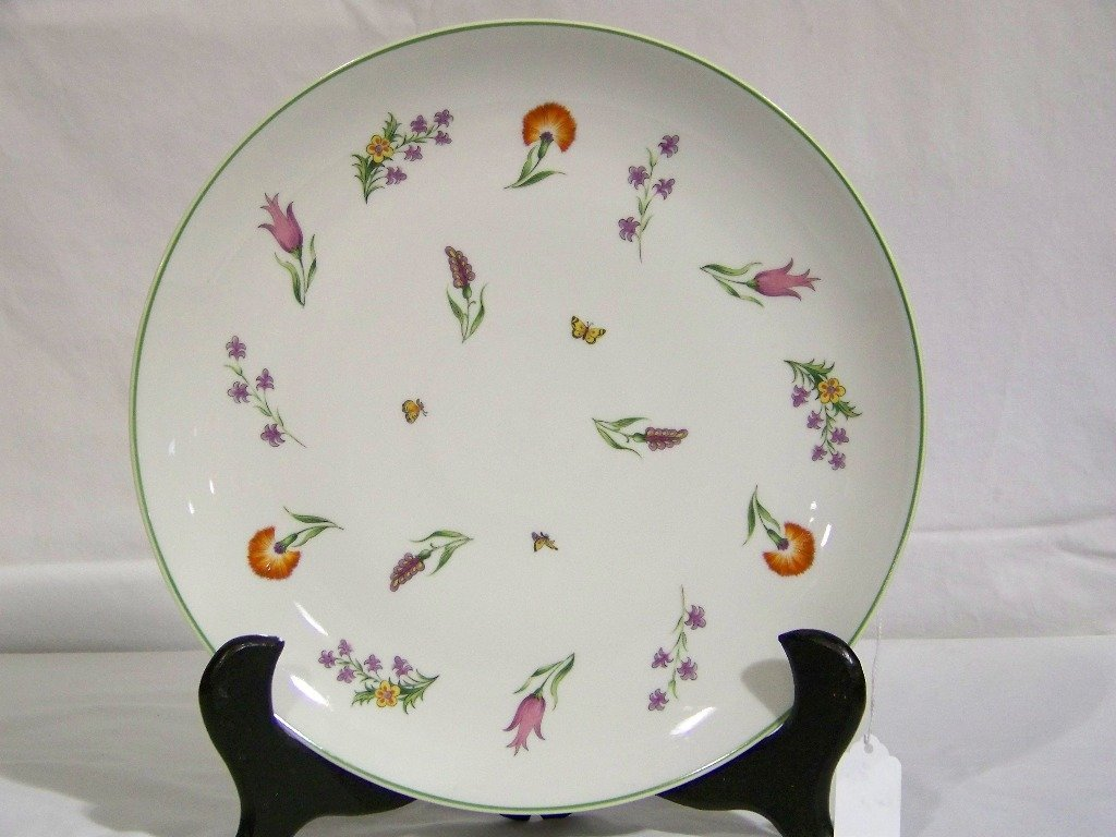 "Limoges For Tiffany & Co. 12"" Charger ""Tiffany Garden"""