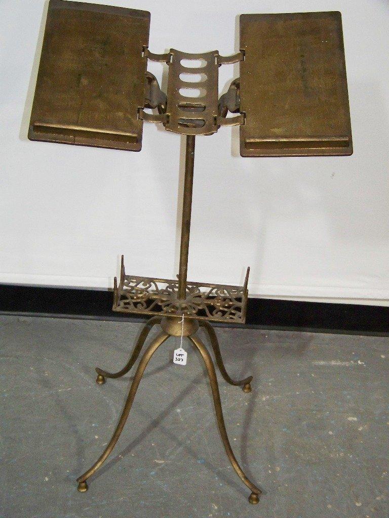 iron folding book stand