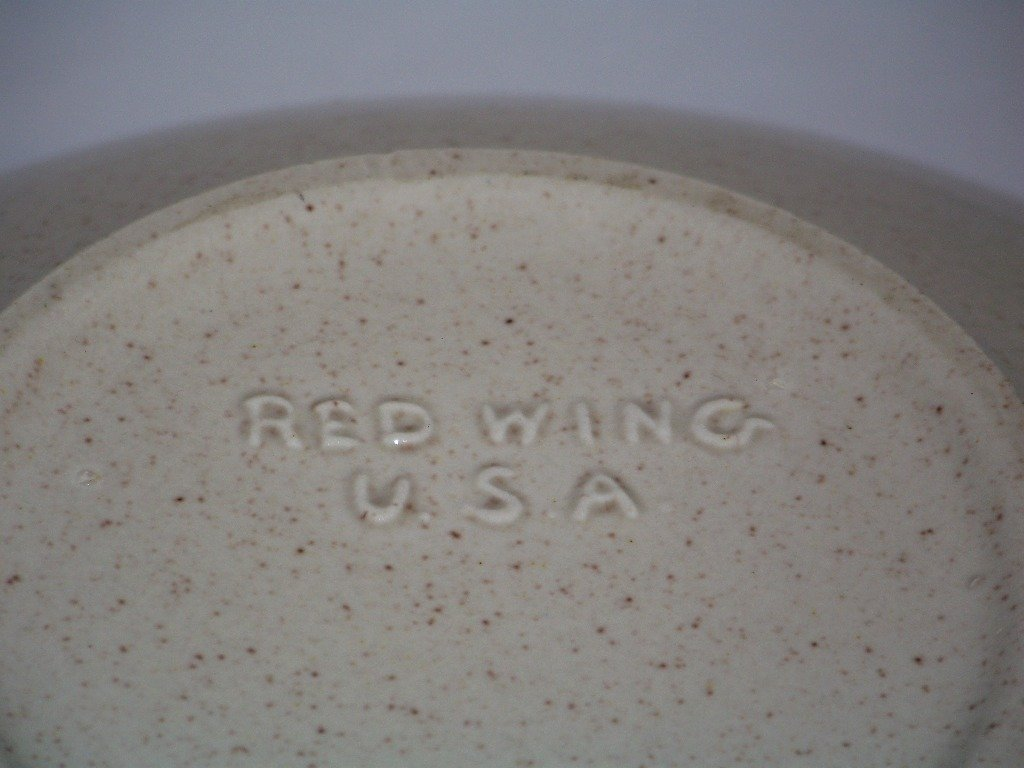 Large Red Wing Bowl & 5 Russel Wright Plates - 5