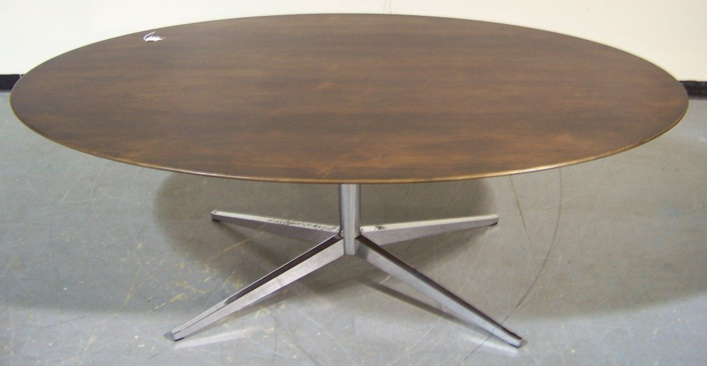 Florence Knoll Dining Table,Brazilian Rosewood Top