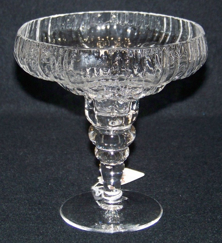 Modern Rosenthal Crystal Standing Compote