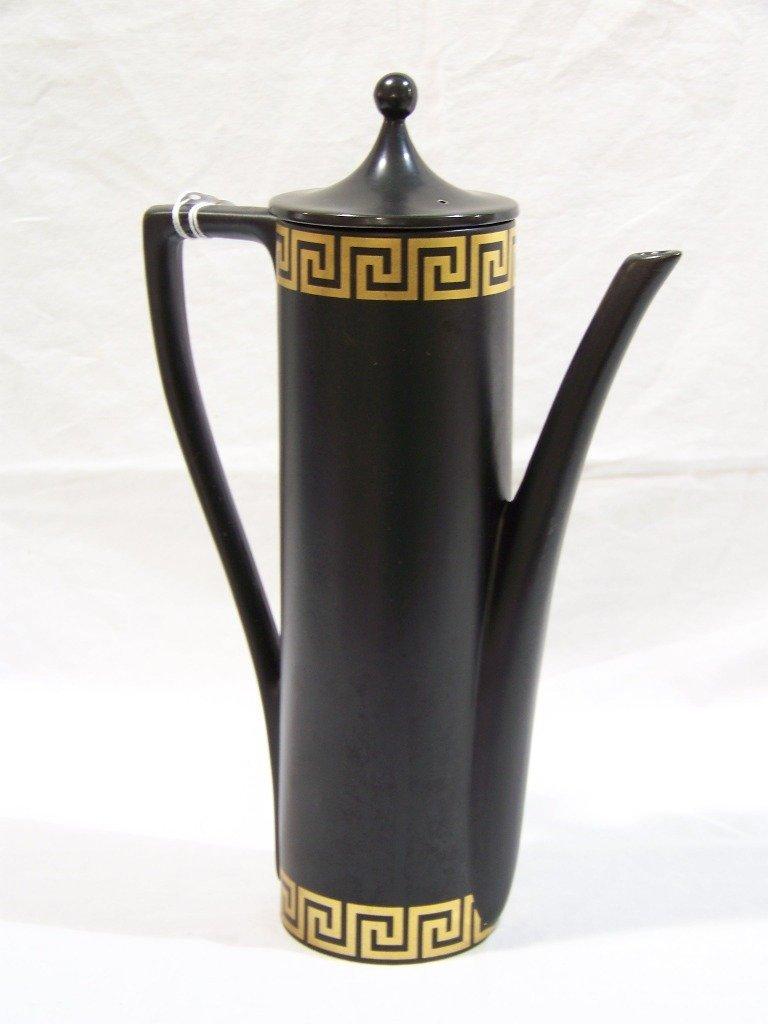 """Vintage Modern Portmeirion 13 1/2"""" Porcelain Greek Key"""