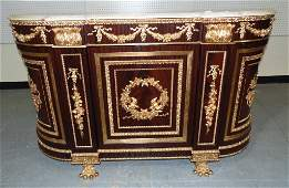 """20th C. Bronze Mounted Console """"Marie Antoinette Style"""