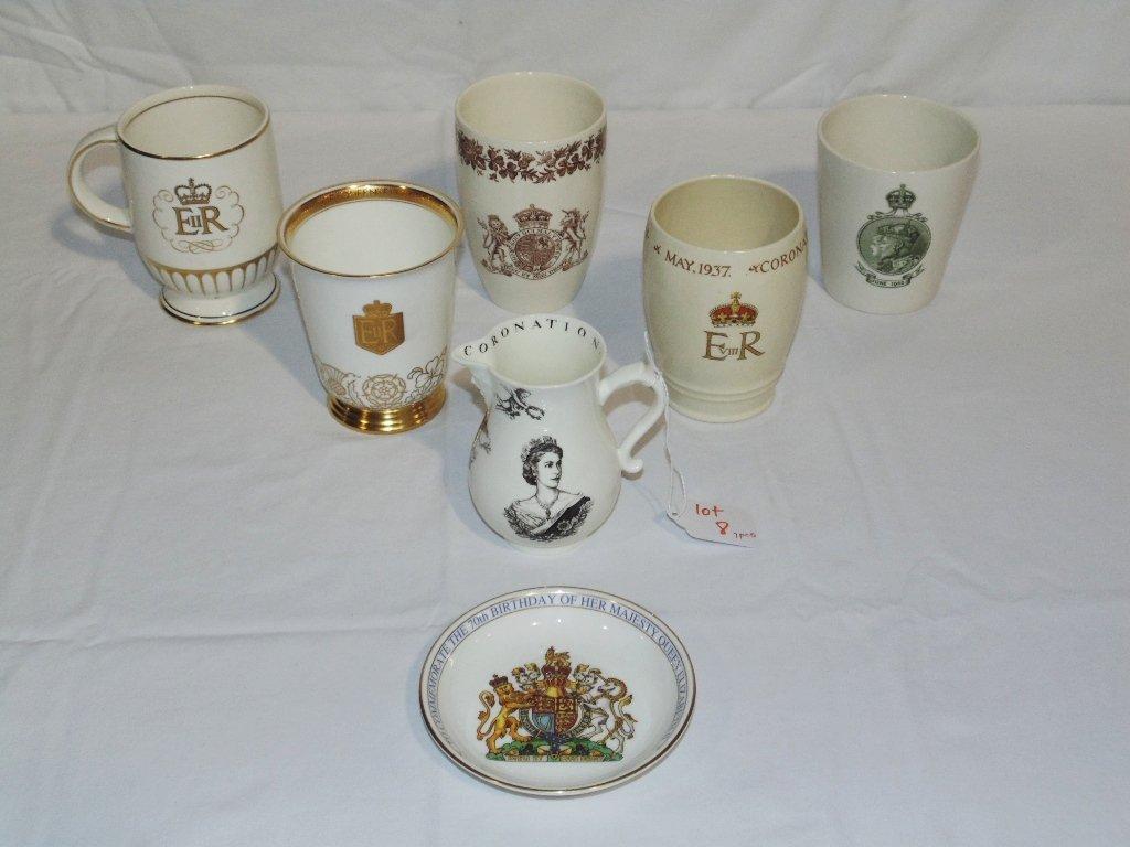 7 Early Coronation Cups