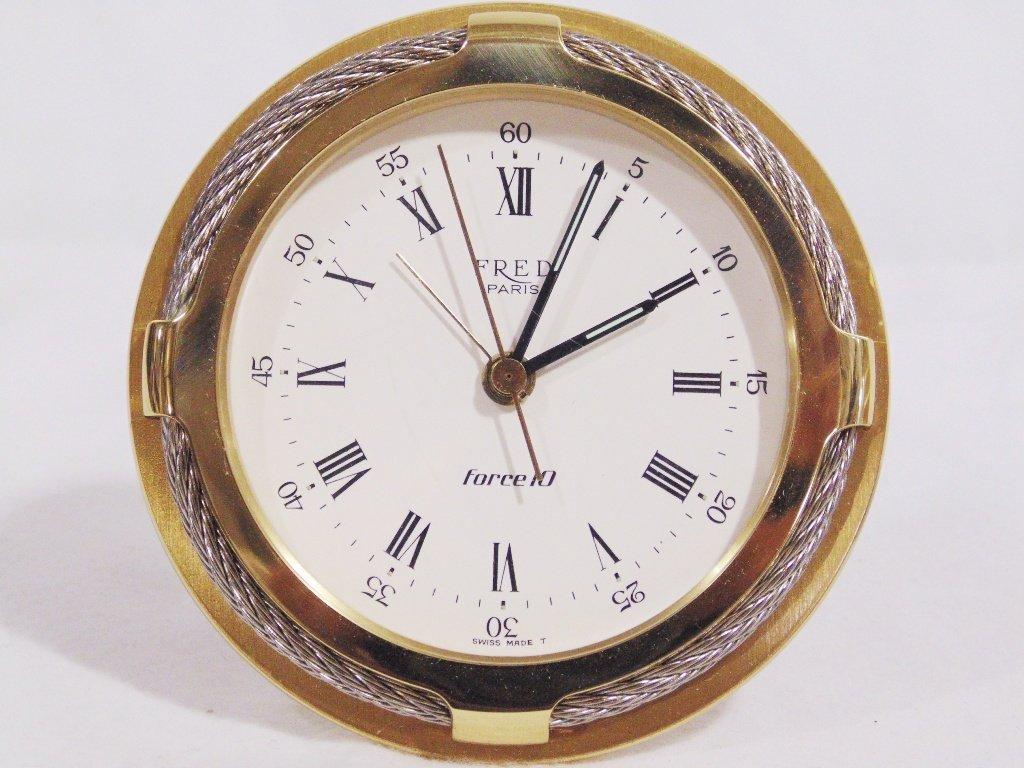 Fine Fred Paris & Tiffany & Co. Desk Clocks - 2