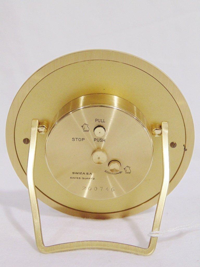 Fine Fred Paris & Tiffany & Co. Desk Clocks - 6