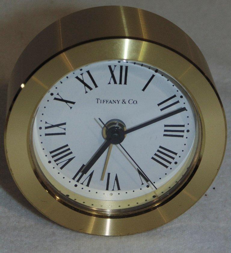 Fine Fred Paris & Tiffany & Co. Desk Clocks - 8