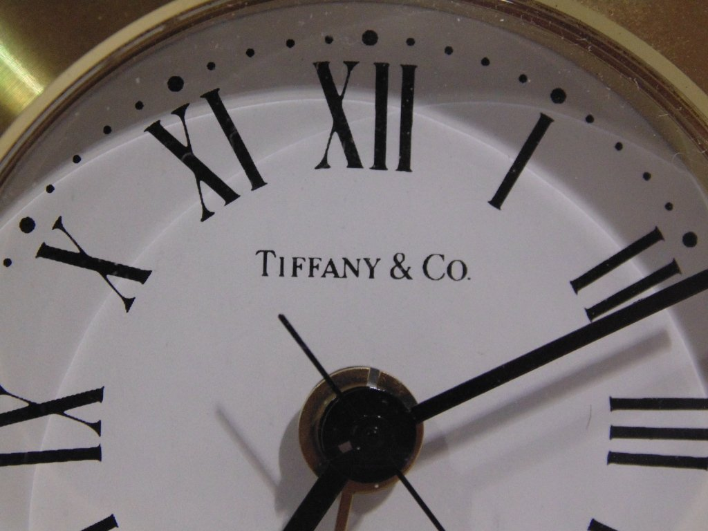 Fine Fred Paris & Tiffany & Co. Desk Clocks - 9