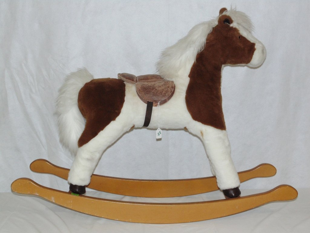 Vintage Mulholland & Bailie Child's Rocking Horse
