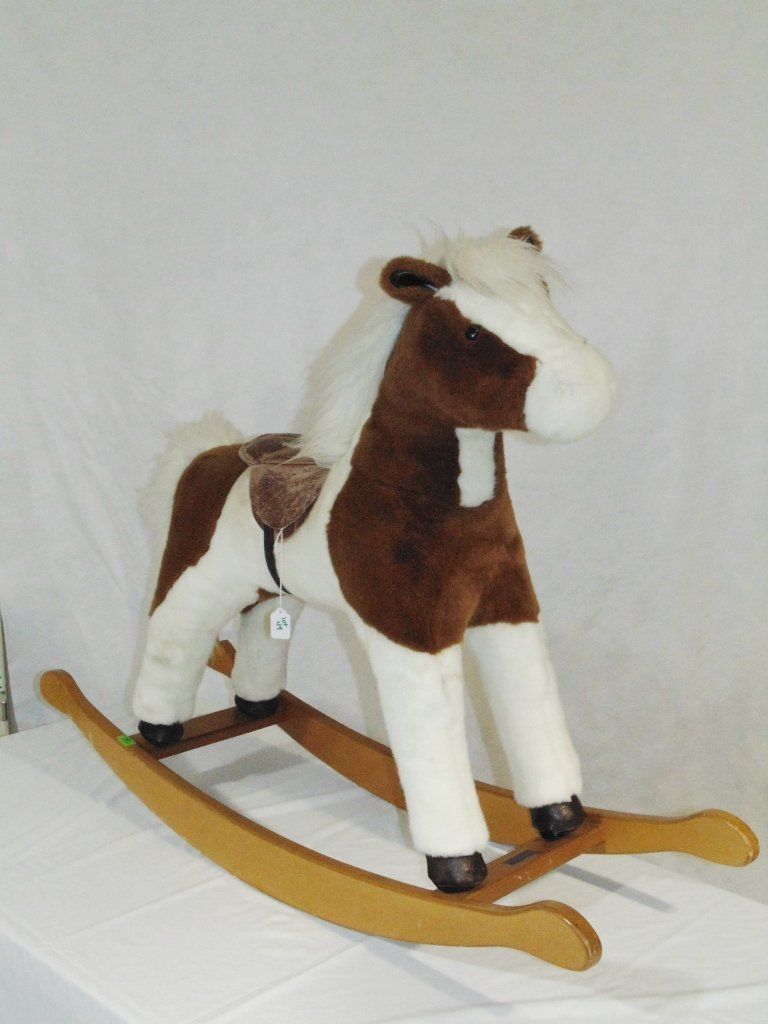 Vintage Mulholland & Bailie Child's Rocking Horse - 2