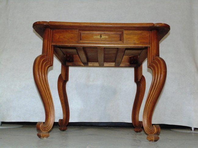 Vintage Modern Tomlinson Furniture Inlaid Game Table Lot 224