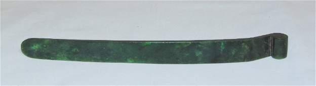 19th C Chinese Jade Hair Pin