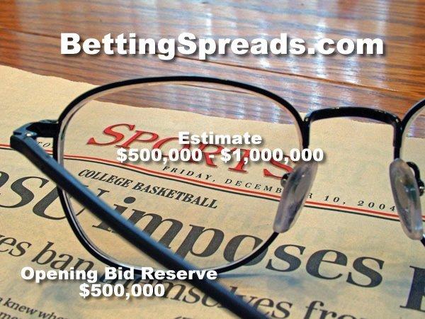 6: BettingSpreads.com DOMAIN NAME AUCTION MACAU LIVE