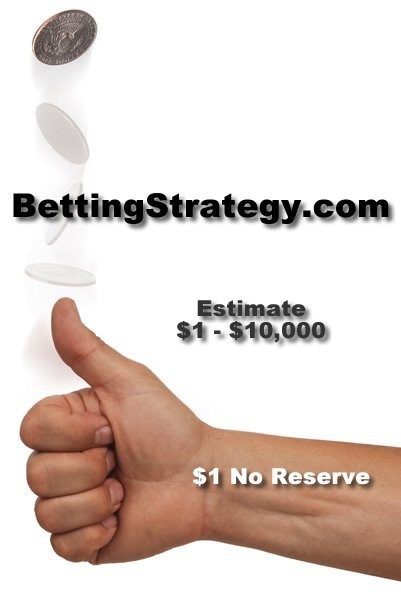 8: BettingStrategy.com Keep Doubling Your Bet Until You