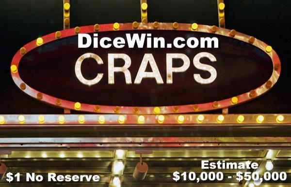 19: DiceWin.com Craps Casino Domain Names are Rare $1nr