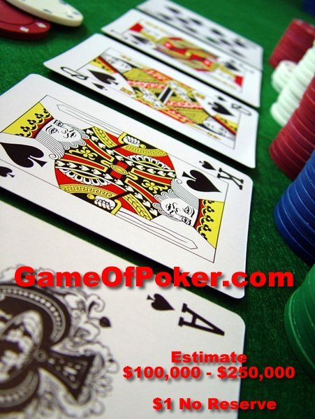22: GameOfPoker.com The Best Card Game In The World NR