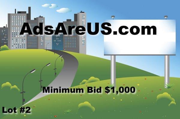 2: AdsAreUs.com Excellent Advertising Company Domain DO