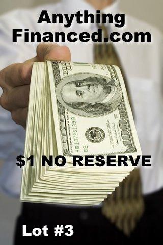 3: AnythingFinanced.com Finance Loans Domain Name $1NR