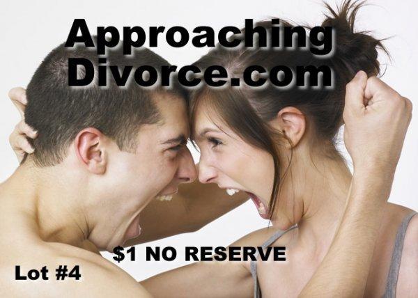 4: ApproachingDivorce.com Lawyer Domain Name Legal $1NR
