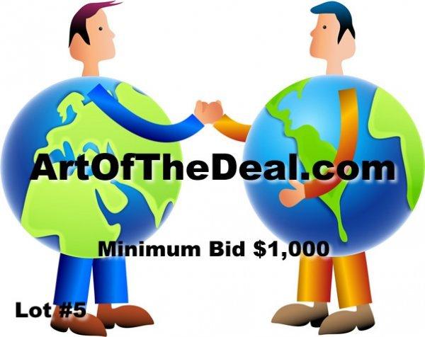 5: ArtOfTheDeal.com Do You Have a Catchy Domain Name DO