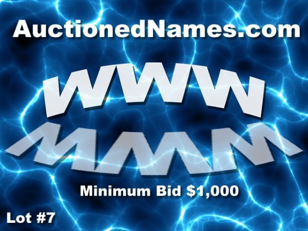 7: AuctionedNames.com GREAT SITE FOR DOMAIN BUSINESS DO