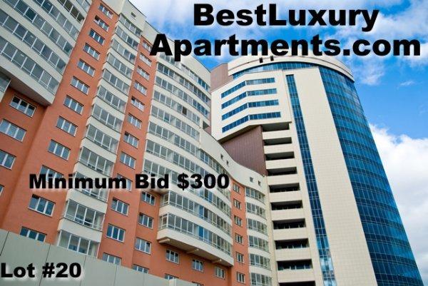 20: BestLuxuryApartments.com DOMAIN NAME AUCTION