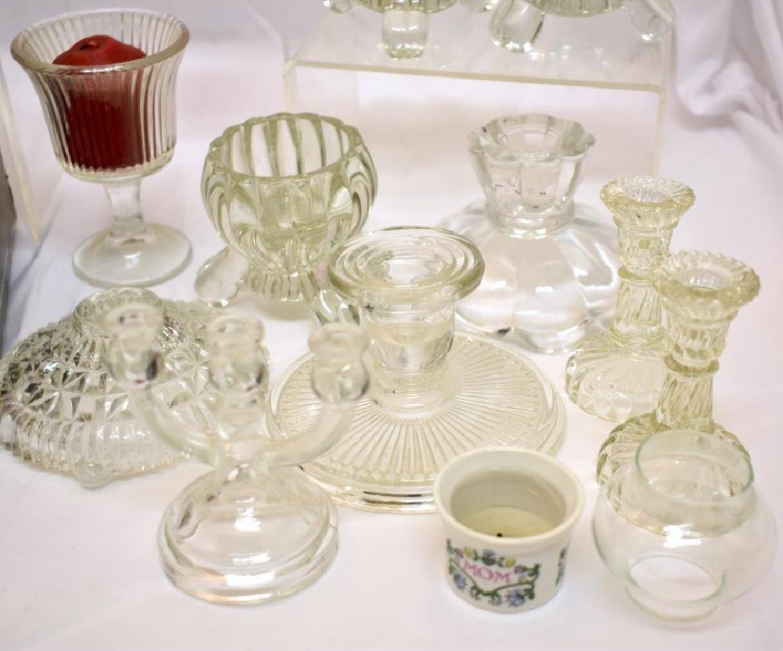 ASSORTED CANDLE HOLDERS & MORE - 10