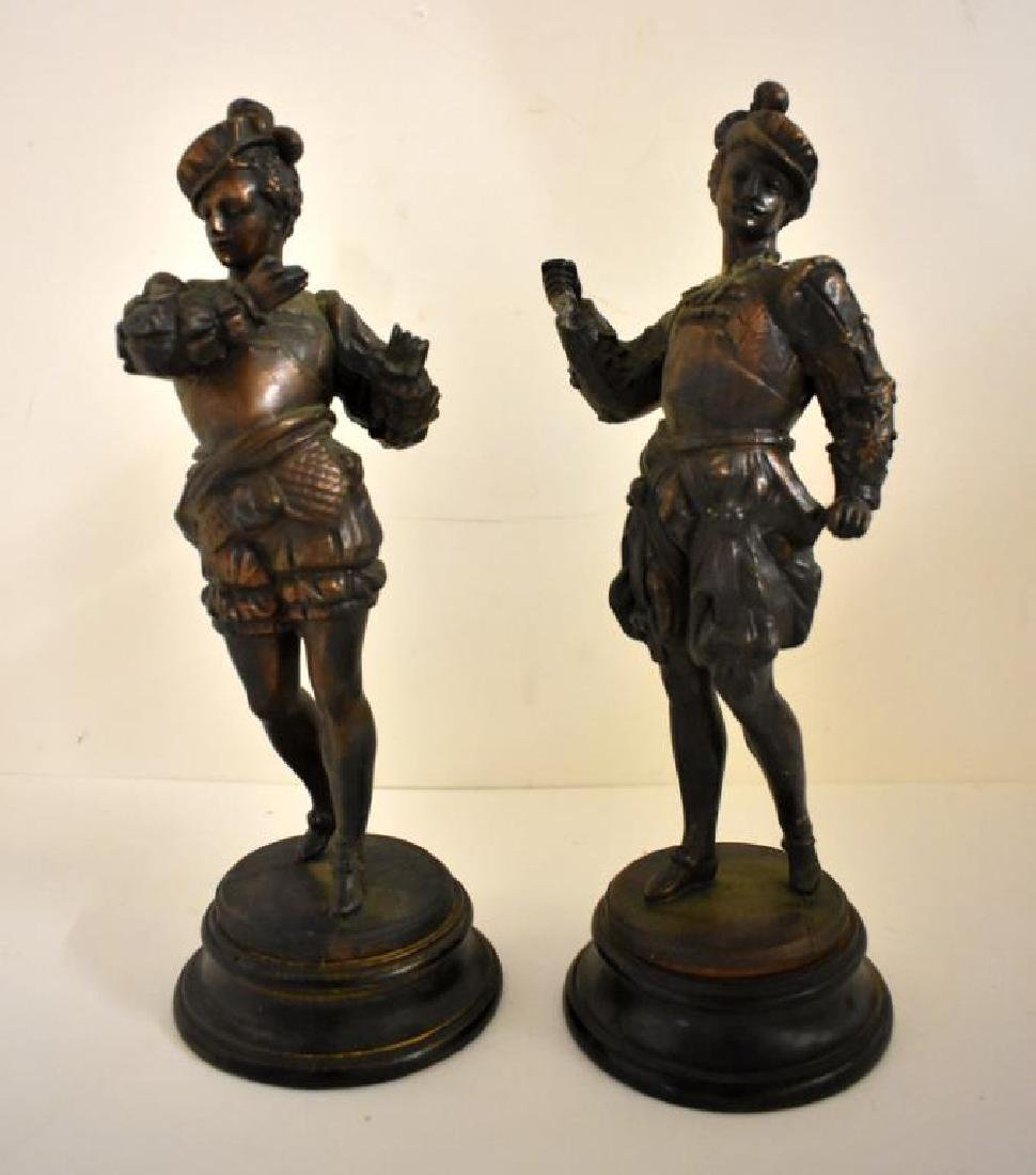 PAIR OF VICTORIAN STATUES