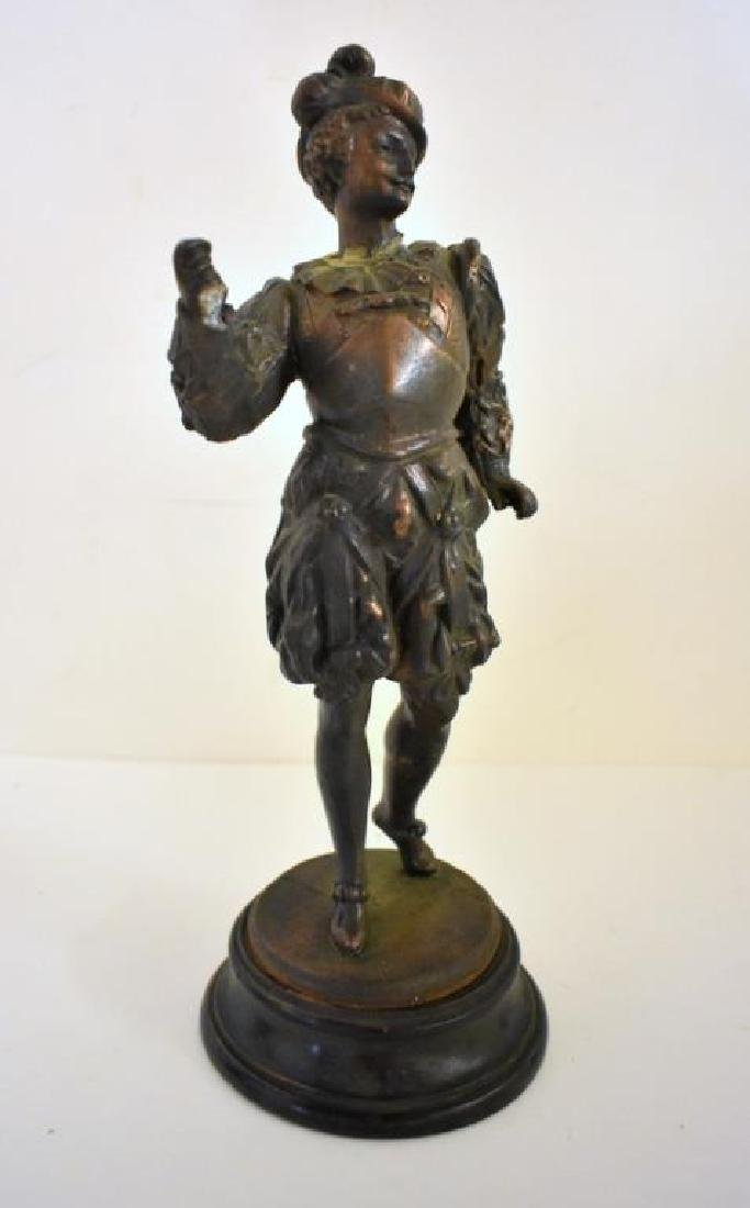 PAIR OF VICTORIAN STATUES - 2