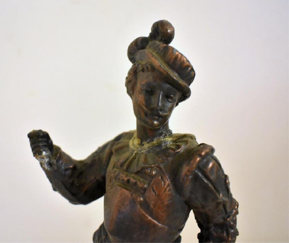 PAIR OF VICTORIAN STATUES - 3