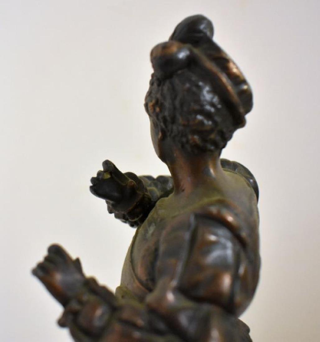 PAIR OF VICTORIAN STATUES - 6
