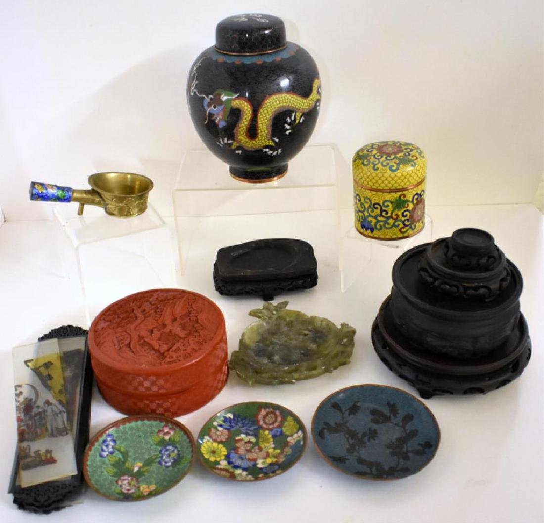 ASSORTED ASIAN COLLECTIBLES