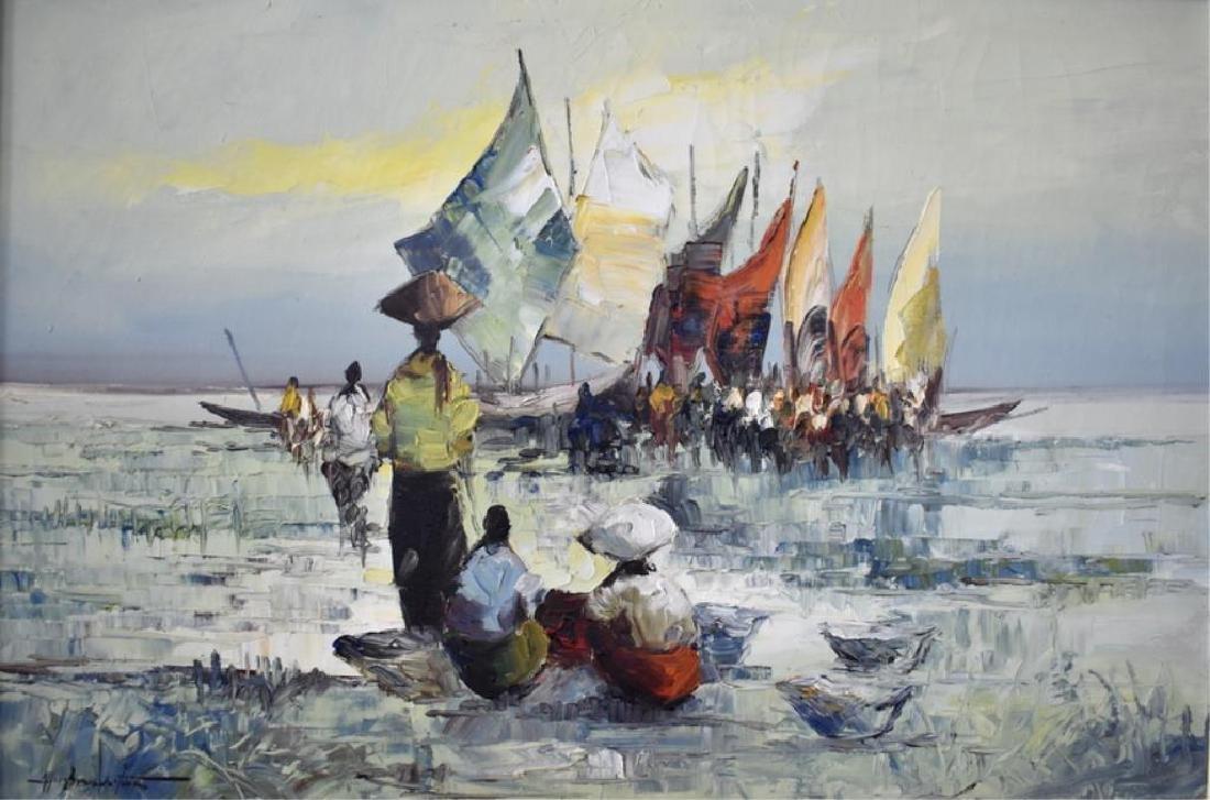 MID-CENTURY ASIAN PAINTING - 2