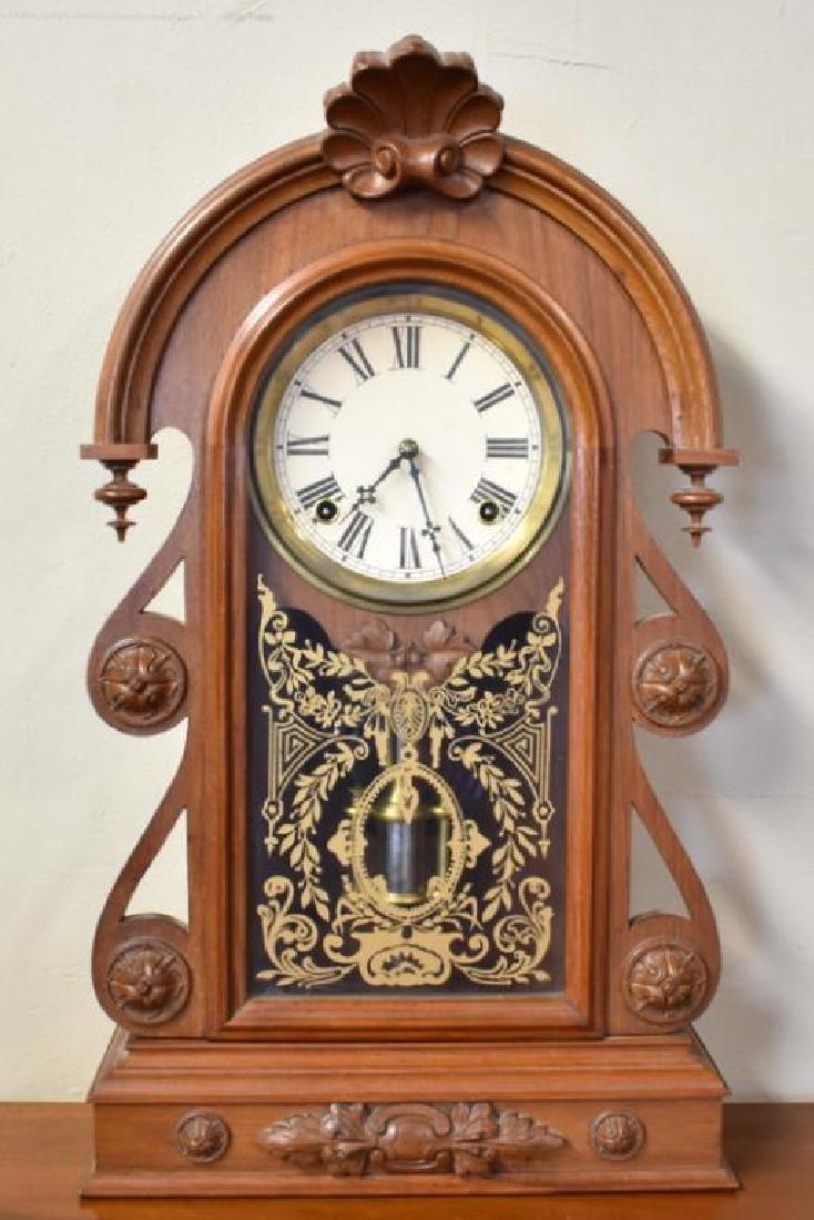 WM. L. GILBERT SHELF CLOCK