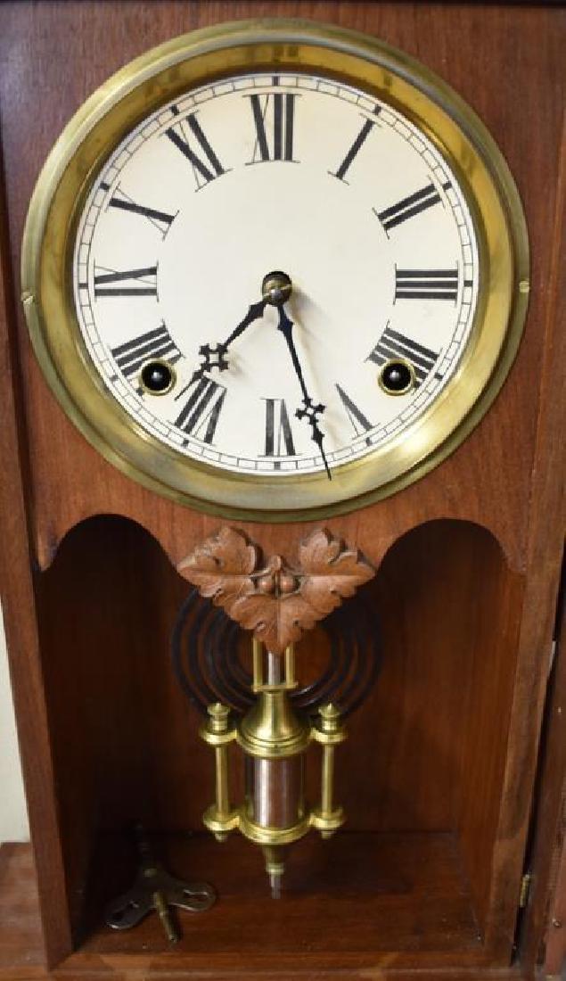 WM. L. GILBERT SHELF CLOCK - 2