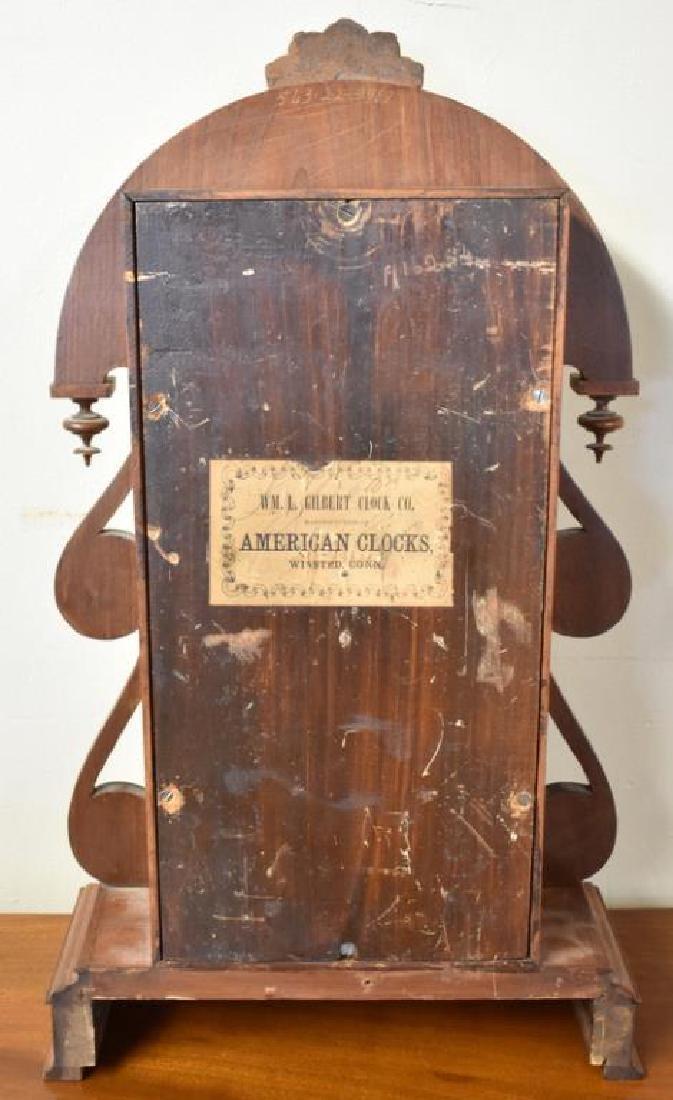 WM. L. GILBERT SHELF CLOCK - 3