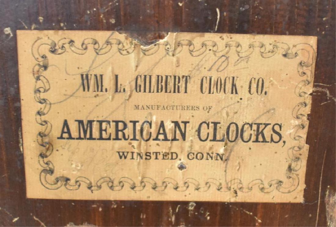 WM. L. GILBERT SHELF CLOCK - 4