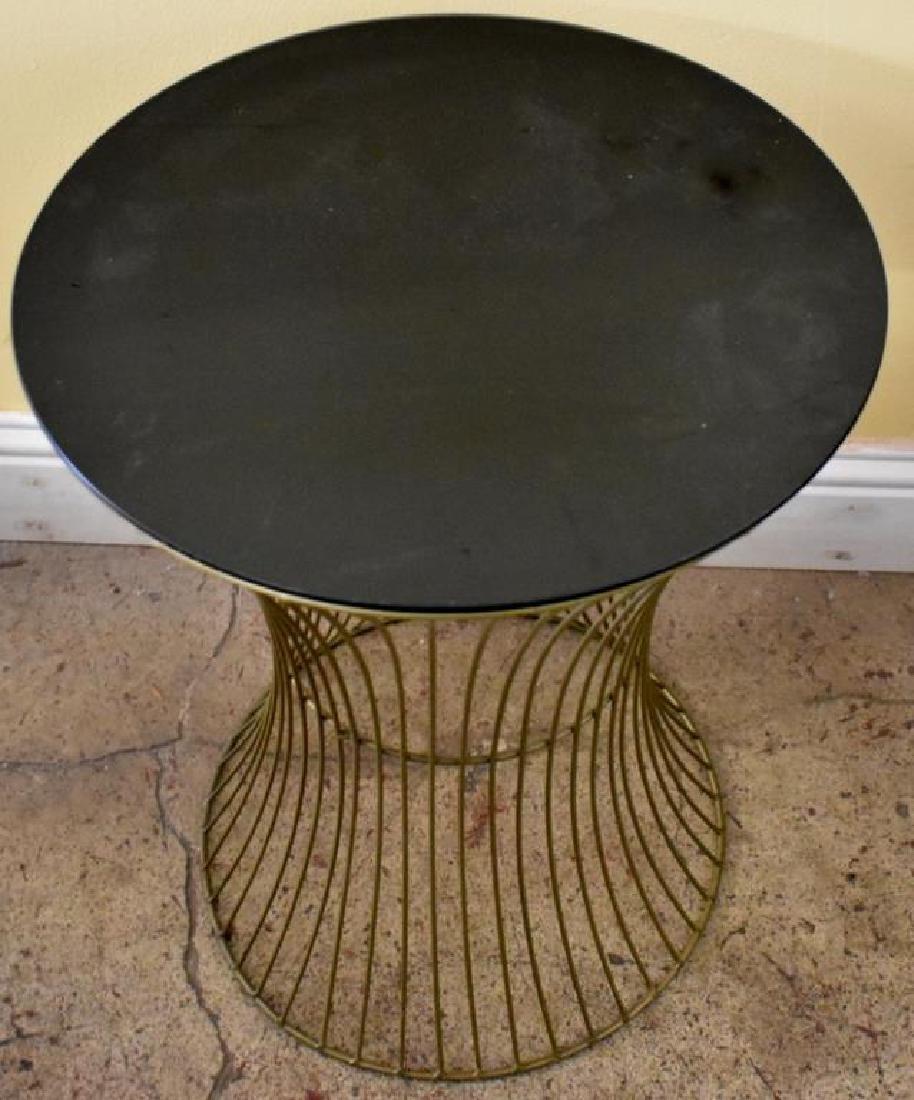 MID-CENTURY PLATNER STYLE SIDE TABLE - 2