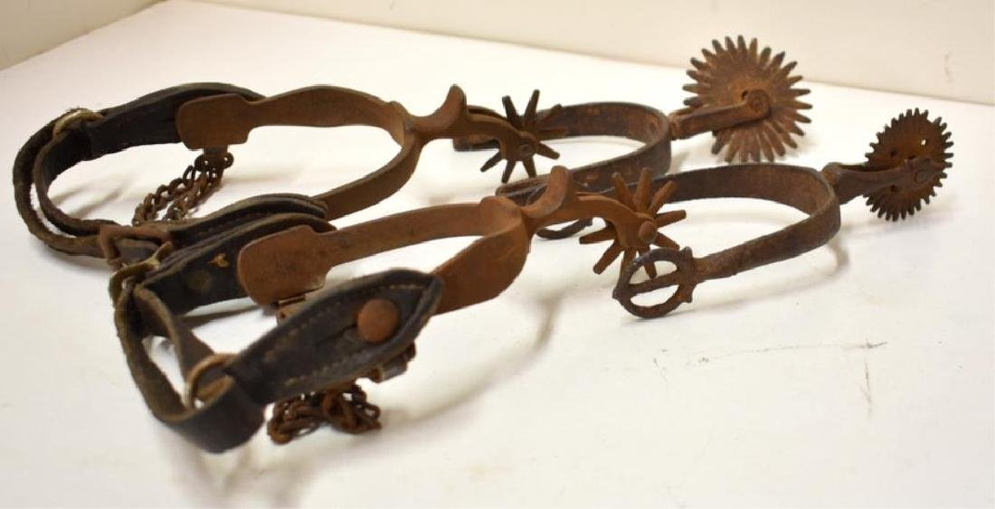 ANTIQUE SPURS