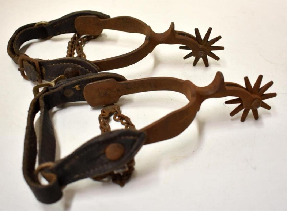 ANTIQUE SPURS - 2